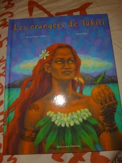 Les orangers de Tahiti - Balivernes - Les lectures de Liyah