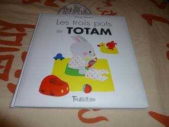 Les trois pots de Totam - Tourbillon - Les lectures de Liyah