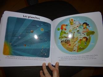 L'univers 1 - Larousse - Les lectures de Liyah