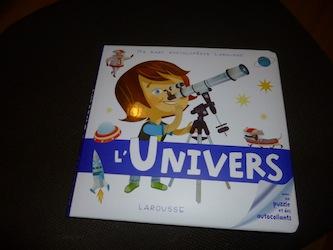 L'univers - Larousse - Les lectures de Liyah