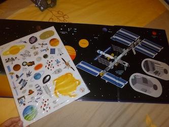 Ma première exploration de l'espace 1 - Tourbillon - Les lectures de Liyah