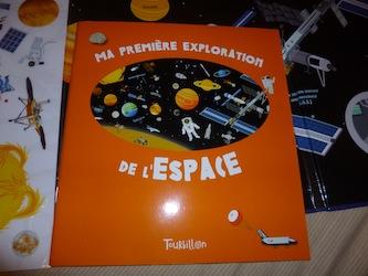 Ma première exploration de l'espace 2 - Tourbillon - Les lectures de Liyah