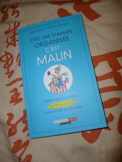 Maman organisée c'est malin - Leduc - Les lectures de Liyah