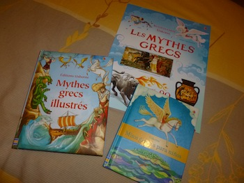 Mythes grecs - Les lectures de Liyah