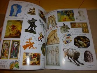 Mythes grecs autocollants 2 - Usborne - Les lectures de Liyah
