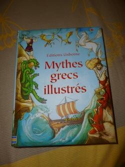 Mythes grecs illustrées - Usborne - Les lectures de Liyah