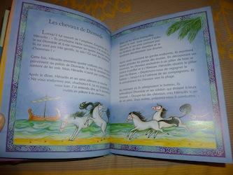 Mythes grecs pour les petits 1 - Usborne - Les lectures de Liyah
