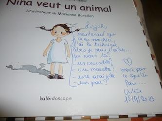Nina veut un animal 1 - Les lectures de Liyah