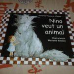 Nina veut un animal - Les lectures de Liyah