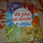 Un jour un dessin - Usborne - Les lectures de Liyah