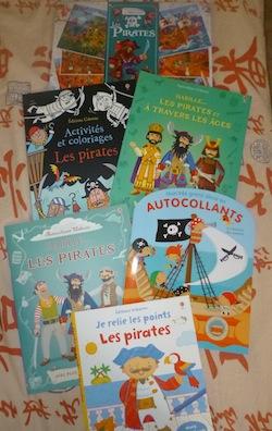 Activités pirates - Les lectures de Liyah