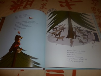 Le loup et la soupe aux pois 2 - Didier - Les lectures de Liyah