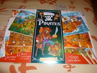 Les pirates - Larousse - Les lectures de Liyah