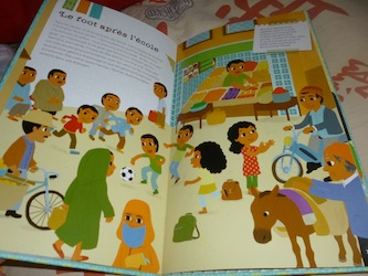 Nabila la petite marocaine 1 - Tourbillon - Les lectures de Liyah