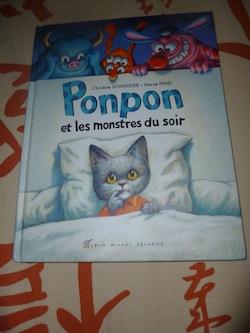 Ponpon et les monstres du soir - Albin Michel - Les lectures de Liyah