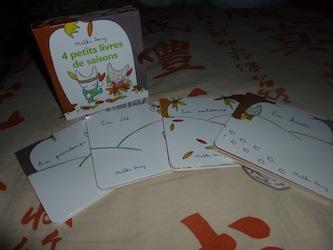 4 petits livres de saisons 1 - EDL - Les lectures de Liyah