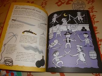 Activités coloriage pirates 1 - Usborne - Les lectures de Liyah