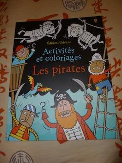 Activités coloriage pirates - Usborne - Les lectures de Liyah