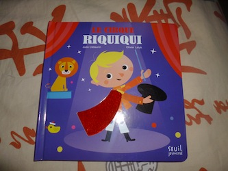 Cirque riquiqui - Seuil - Les lectures de Liyah