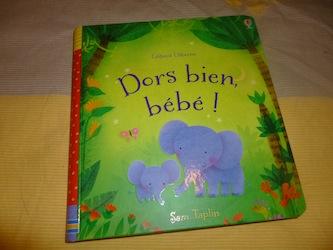 Dors bien bébé - Usborne - Les lectures de Liyah