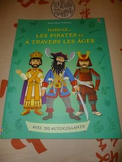 Habille les pirates ages - Usborne - Les lectures de Liyah