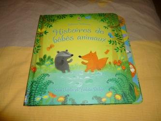Histoires de bebes animaux - Usborne - Les lectures de Liyah