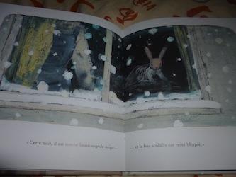 Jour de neige 1 - EDL - Les lectures de Liyah