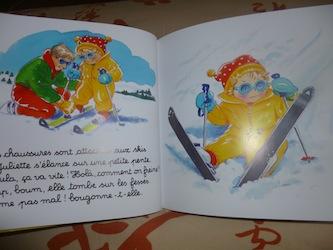 Juliette aux sports d'hiver 2 - Lito - Les lectures de Liayh
