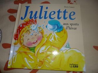 Juliette aux sports d'hiver - Lito - Les lectures de Liayh