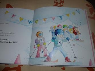 La fée Baguette fait du ski 1 - Lito - Les lectures de Liyah