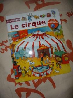 Le cirque - Tourbillon - Les lectures de Liyah
