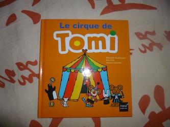 Le cirque de Tomi - Didier - Les lectures de Liyah