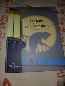 Le pirate et le gardien de phare - Didier - Les lectures de Liyah