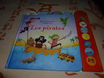 Les pirates - Usborne - Les lectures de Liyah