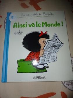 Mafalda Ainsi va le monde - Glenat - Les lectures de Liyah