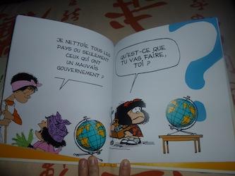 Mafalda Comment va la planete 1 - Glenat - Les lectures de Liyah