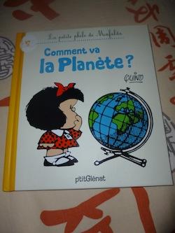 Mafalda Comment va la planete - Glenat - Les lectures de Liyah