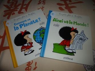 Mafalda - Glenat - Les lectures de Liyah