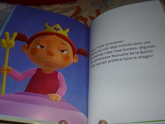 Melle Zazie Ras le bol d'etre une princesse 1 - Nathan - Les lectures de Liyah