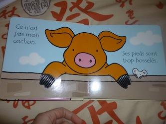 Ou est mon cochon 1 - Usborne - Les lectures de Liyah