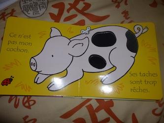 Ou est mon cochon 2 - Usborne - Les lectures de Liyah