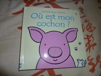 Ou est mon cochon - Usborne - Les lectures de Liyah