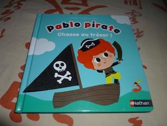 Pablo pirate - Nathan - Les lectures de Liyah