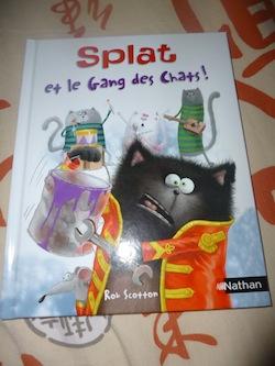 Splat et le gang des chats - Nathan - Les lectures de Liyah