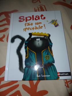 Splat fait son spectacle - Nathan - Les lectures de Liyah