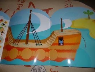 Très grand décors pirates 1 - Lito - Les lectures de Liyah