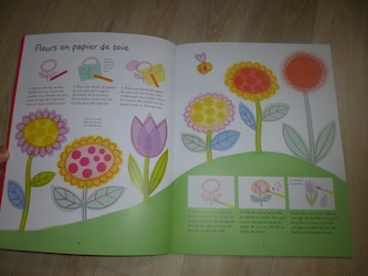 activit s manuelles pour le printemps livre enfant. Black Bedroom Furniture Sets. Home Design Ideas