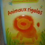 Animaux rigolos - Usborne - Les lectures de Liyah