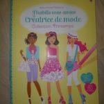 Creatrice mode printemps - Usborne - Les lectures de Liyah