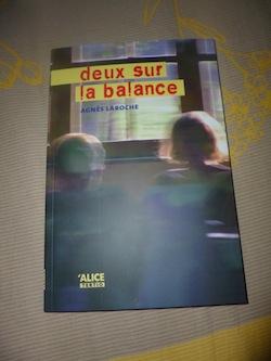 Deux sur la balance - Alice editions - Les lectures de Liyah